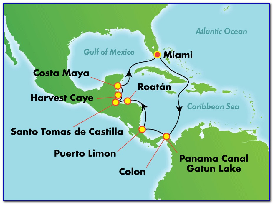 Panama Canal Cruise Routes
