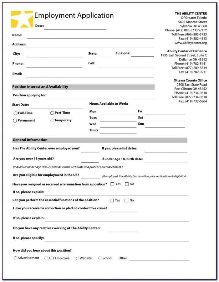 Payless Job Applications
