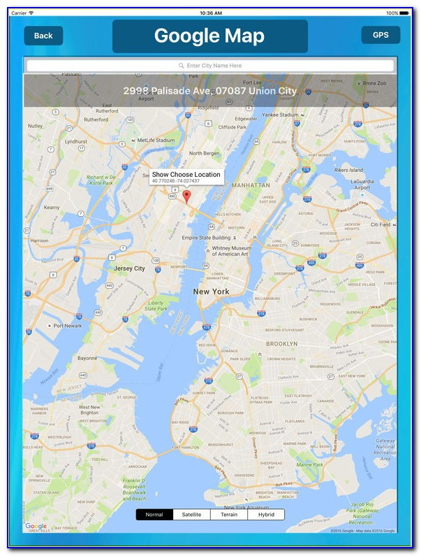 Pinpoint Travel Map App
