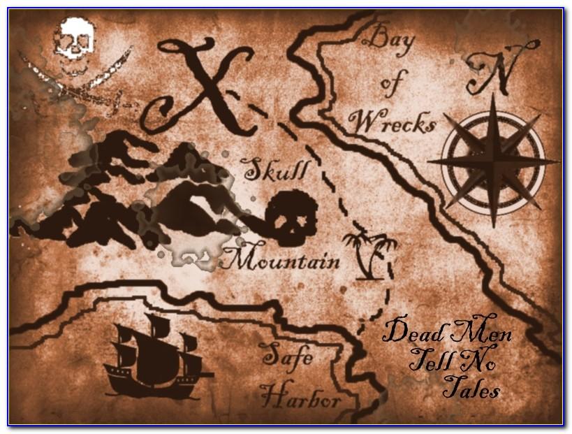 Pirate Map Printable