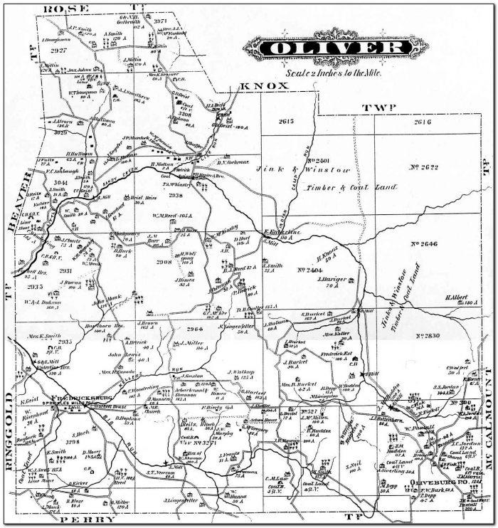 Plat Map Jefferson County Pa