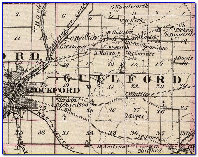 Plat Map Winnebago County Il