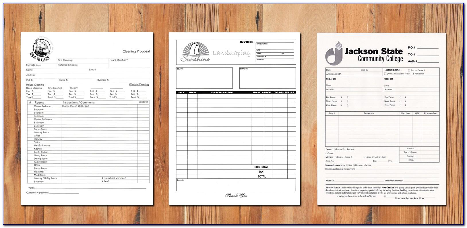 Printing Ncr Forms