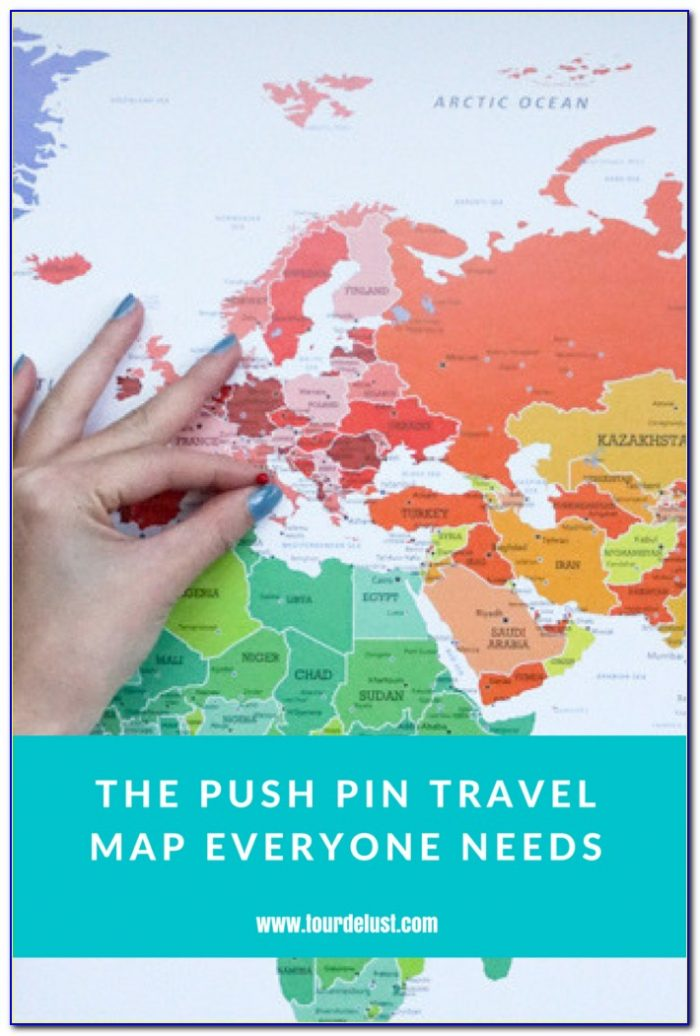 Push Pin Travel Maps Coupon Code