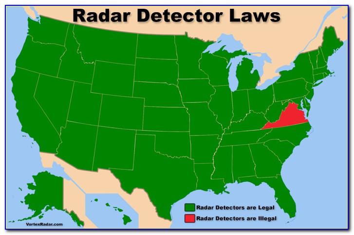 Radar Detector Map