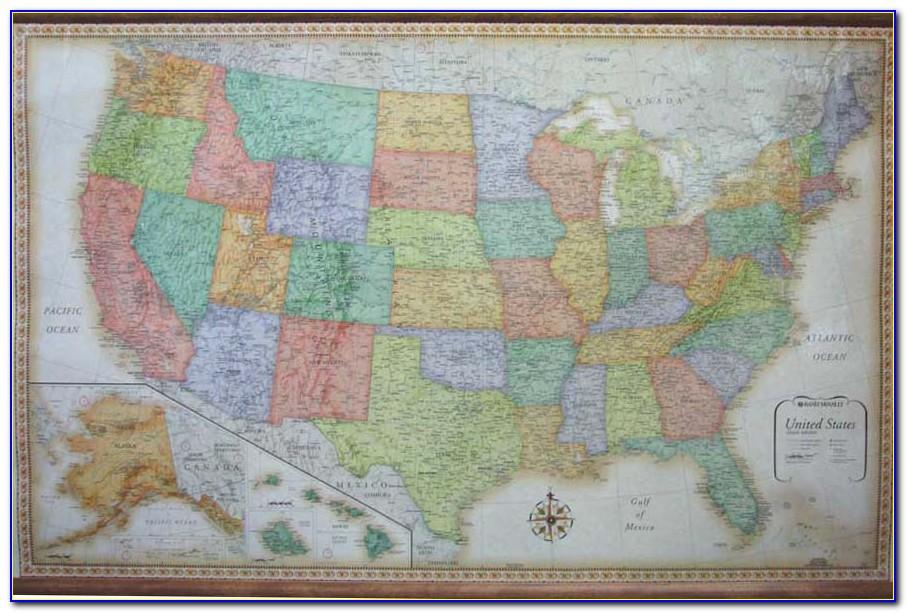 Rand Mcnally Custom Wall Maps