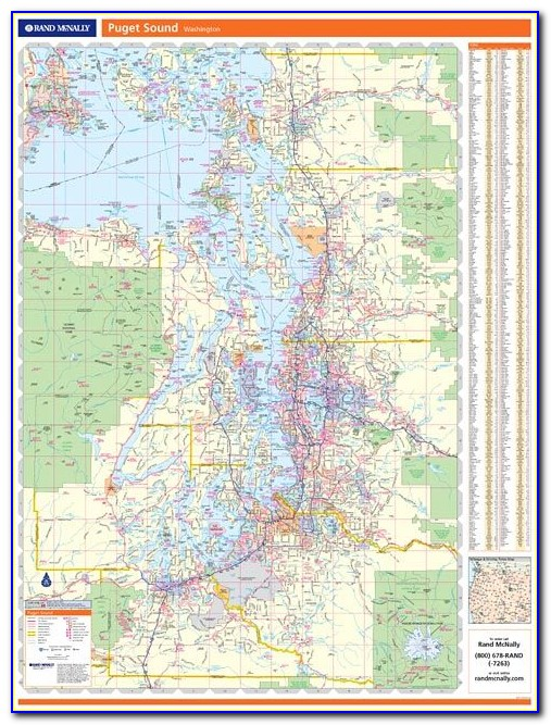 Rand Mcnally Large Wall Maps