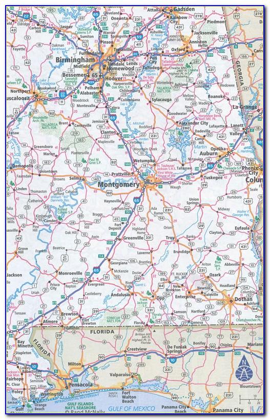 Rand Mcnally Road Map California