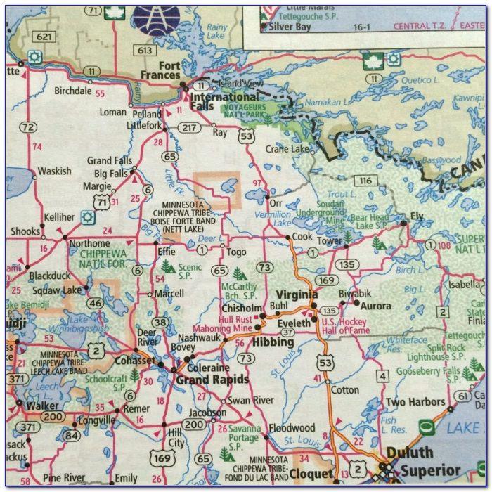 Rand Mcnally Road Map Of Missouri