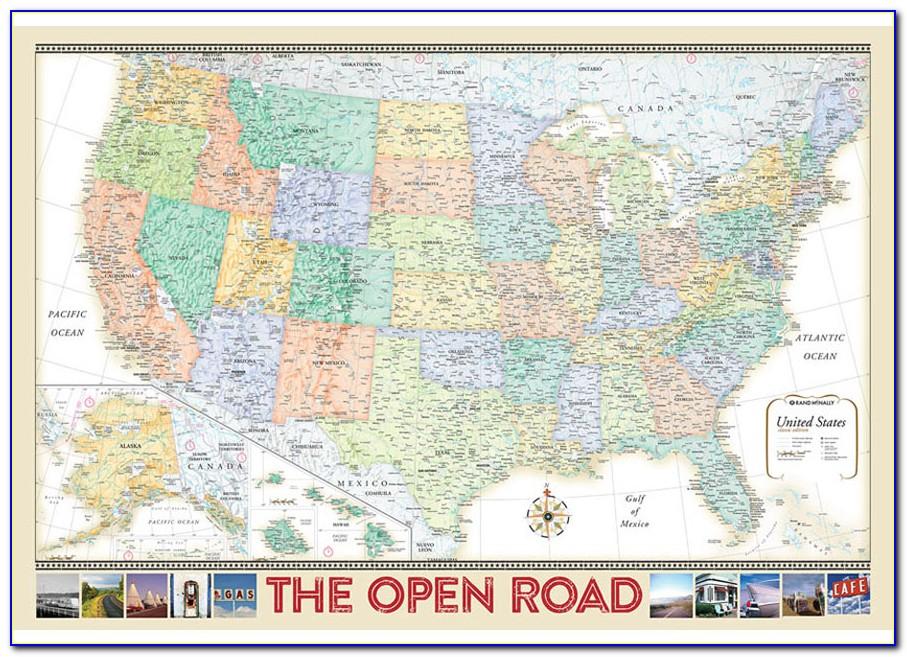 Rand Mcnally Road Maps Usa