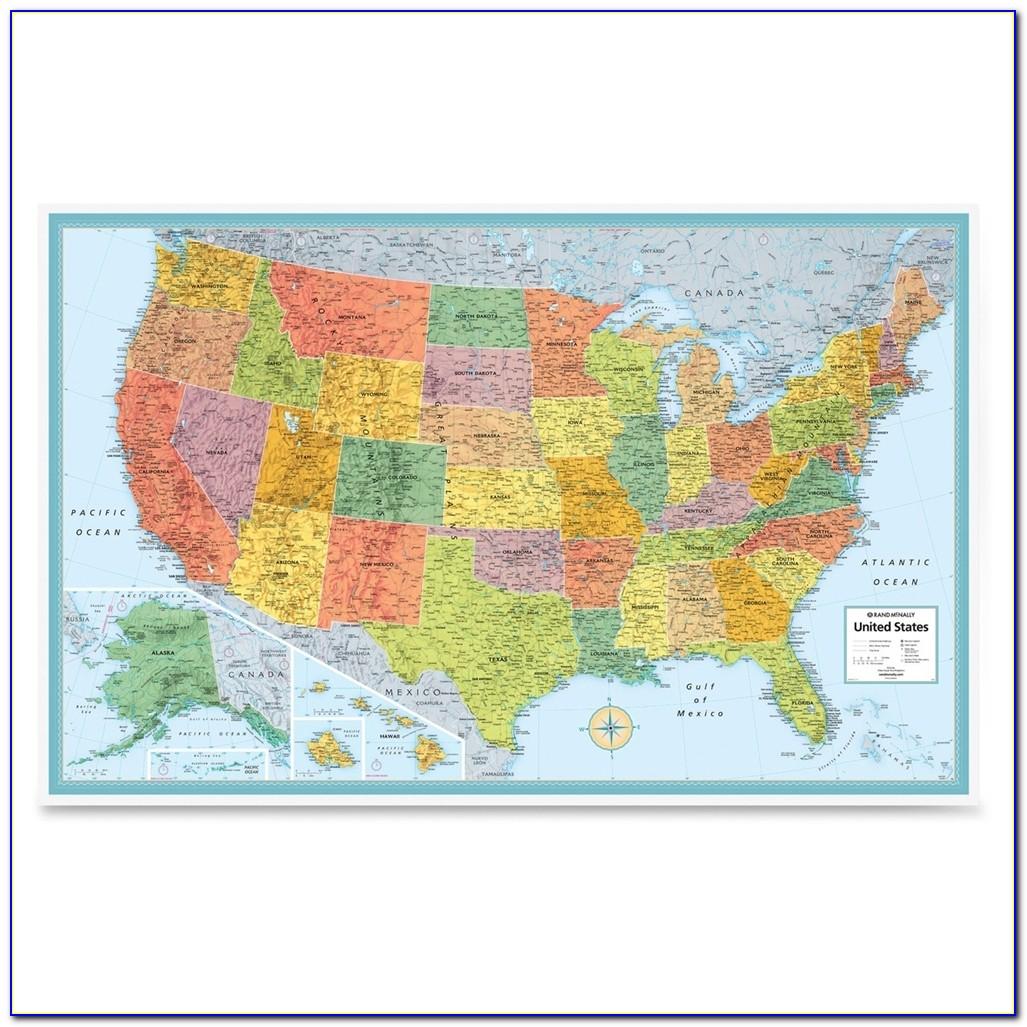 Rand Mcnally Us Road Map