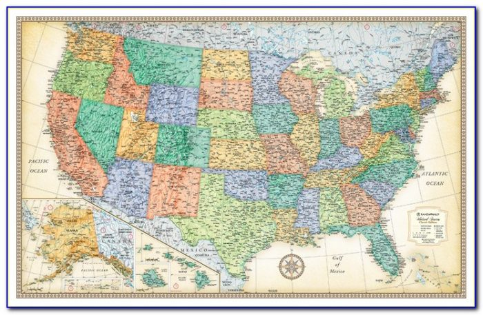 Rand Mcnally Usa Map Book