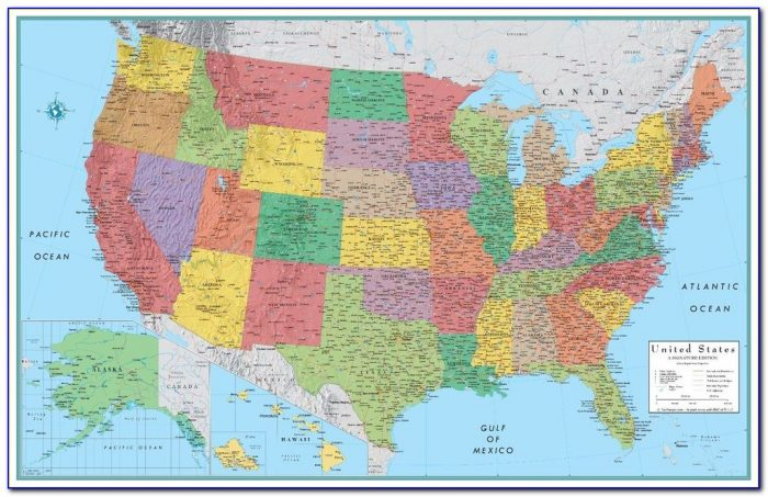 Rand Mcnally Usa Map With Highways