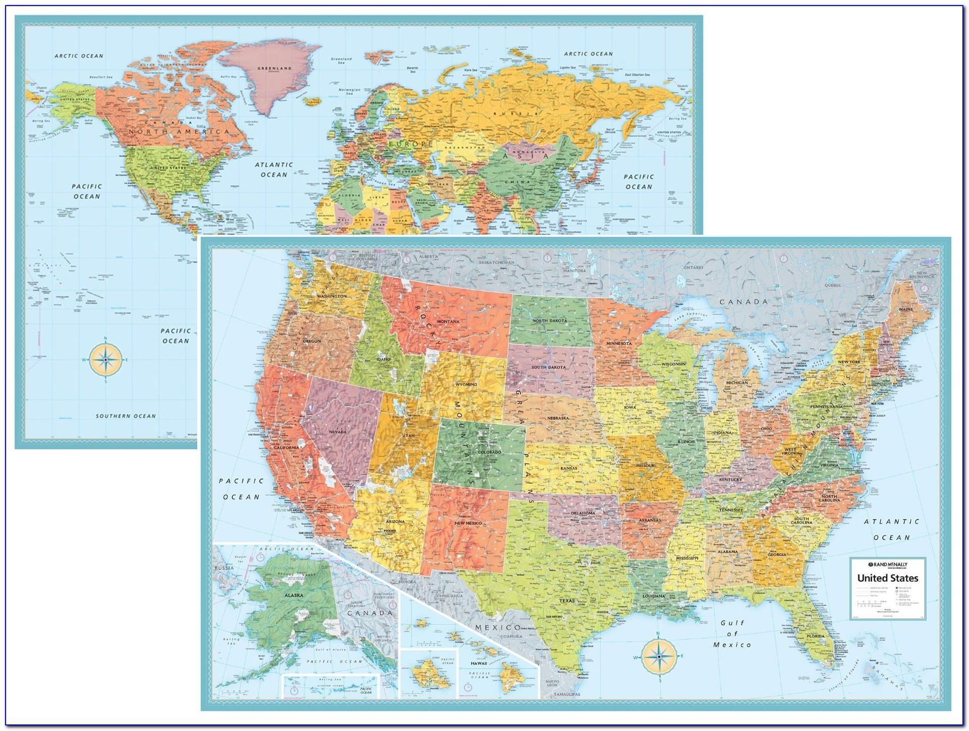 Rand Mcnally Western Us Map