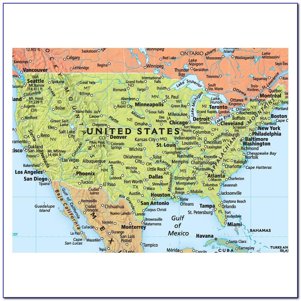 Rand Mcnally World Map Signature Series