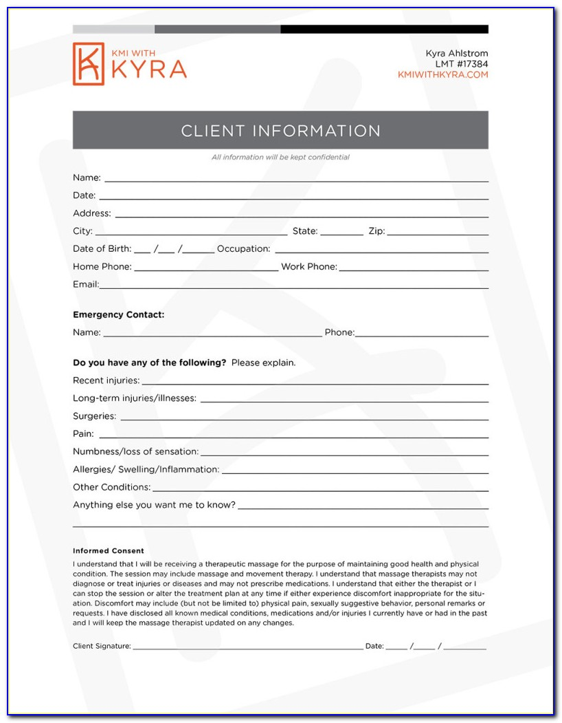 Real Estate Agent Buyer Intake Form