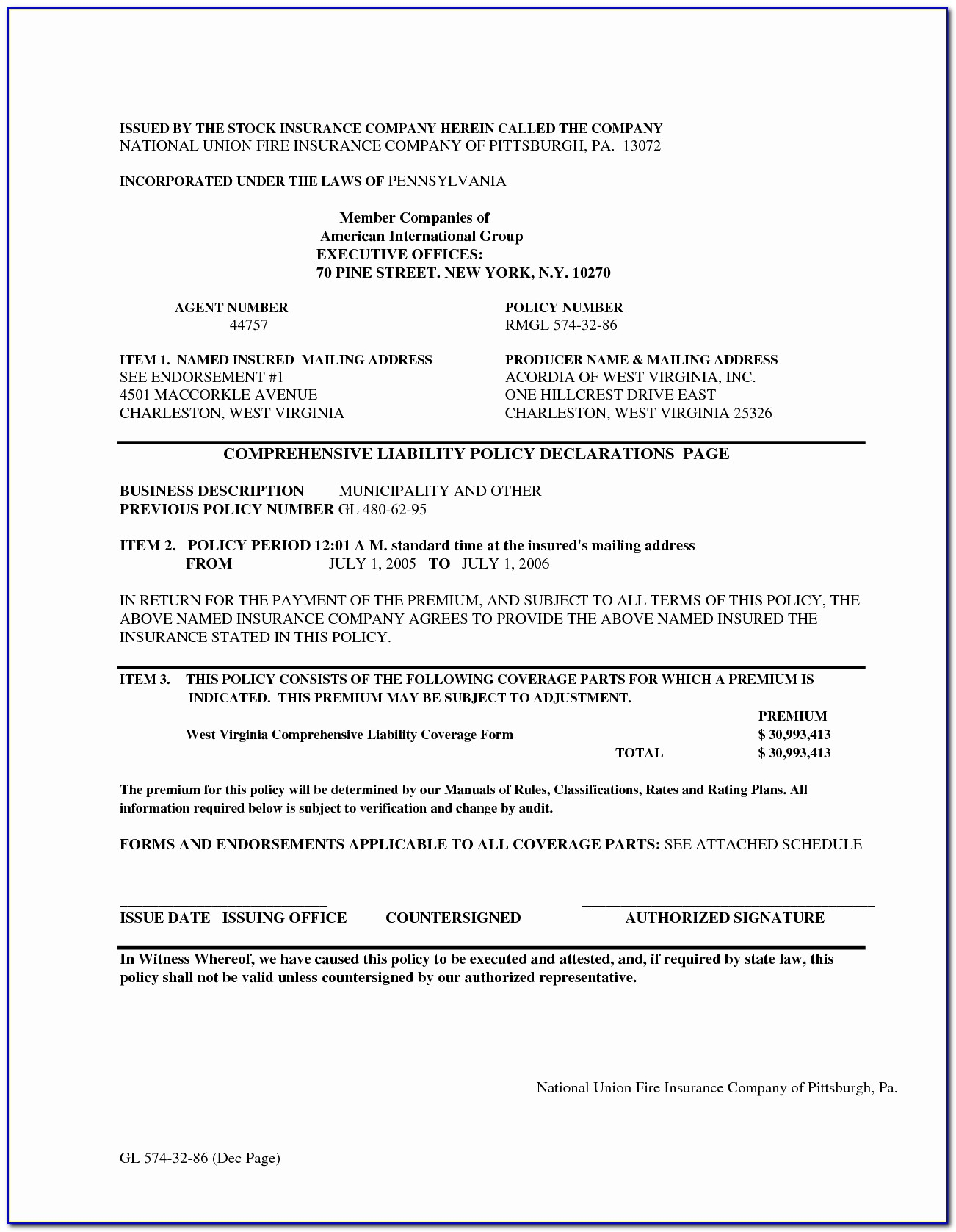 Renters Insurance Declaration Page Sample Lovely Sample Marine Insurance Policy Certificate Best Auto Insurance