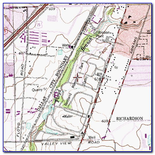 Restland Cemetery Map