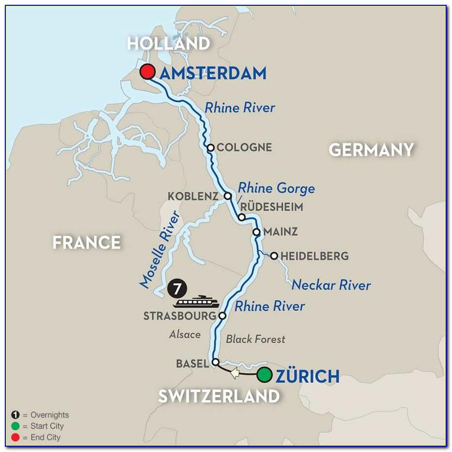 Rhine River Cruise Routes