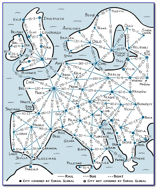 Rick Steves Map Of Europe