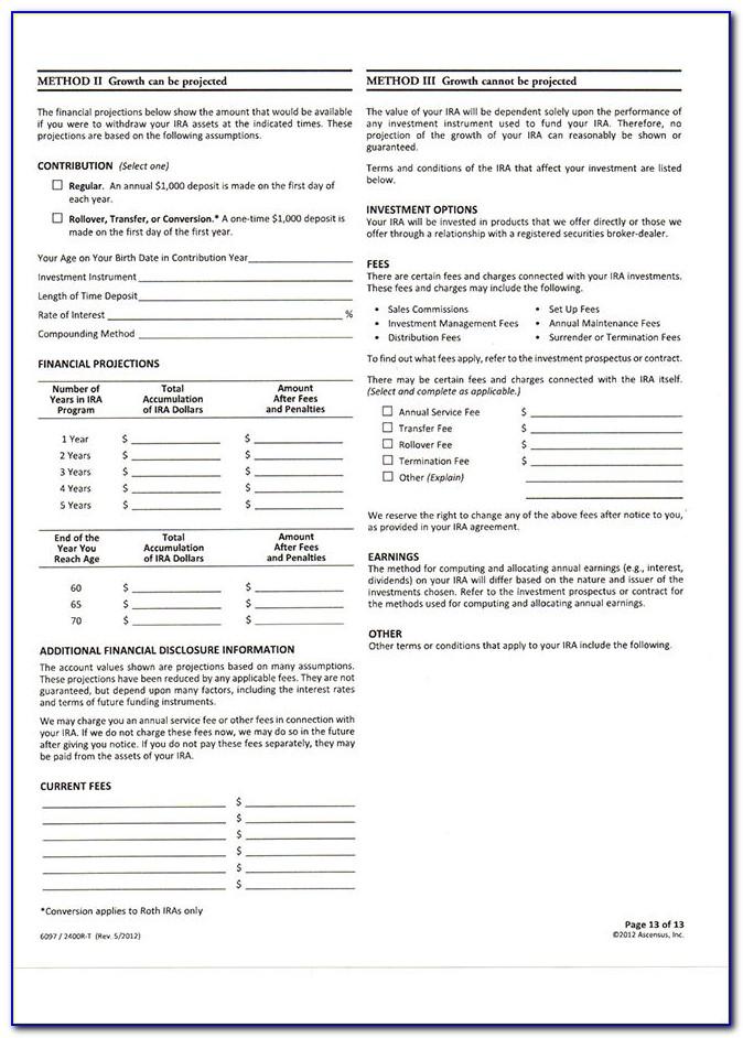 Roth Ira Distribution Form 5329