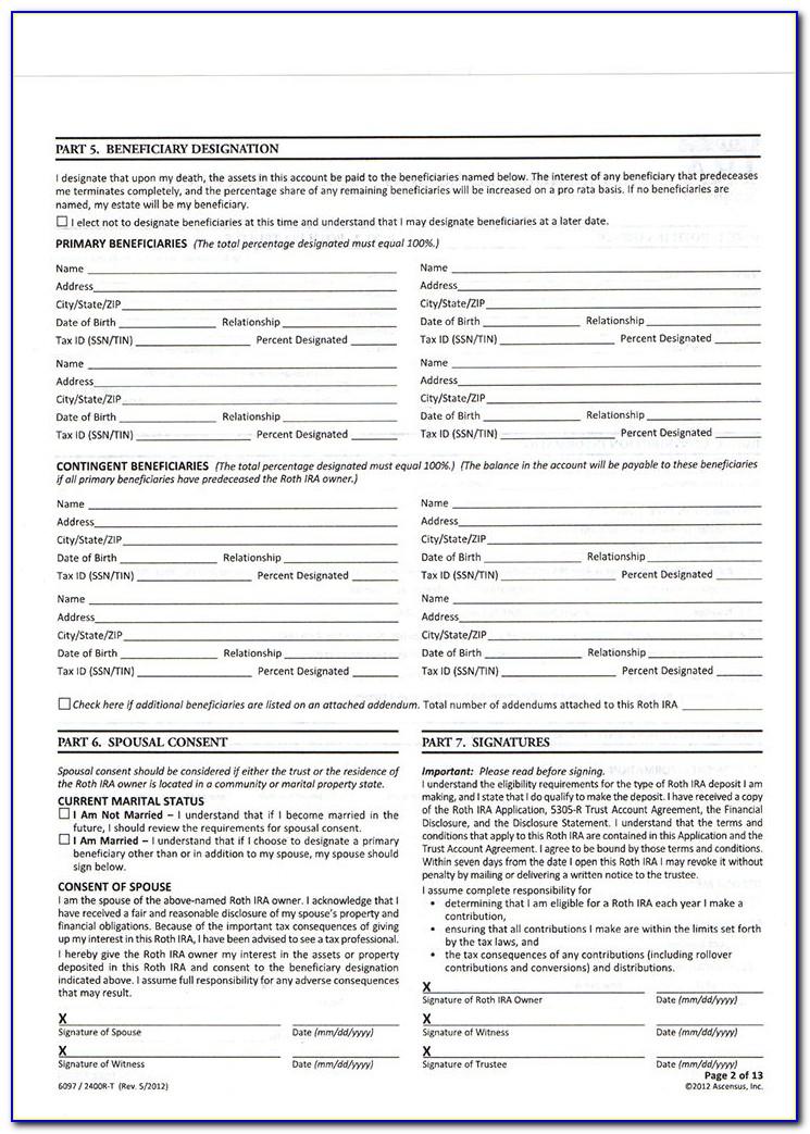 Roth Ira Distribution Form 8606
