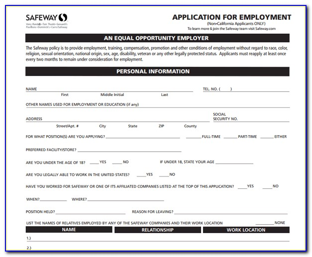 Safeway Jobs Online Application Australia