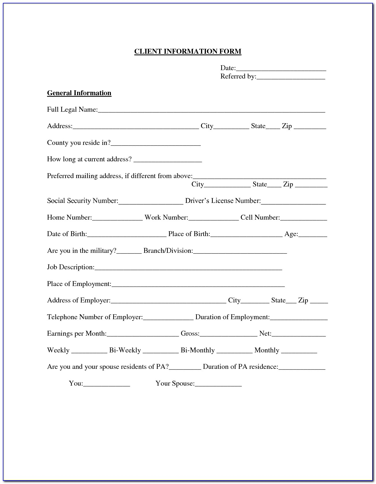 Sample Auto Loan Agreement Form