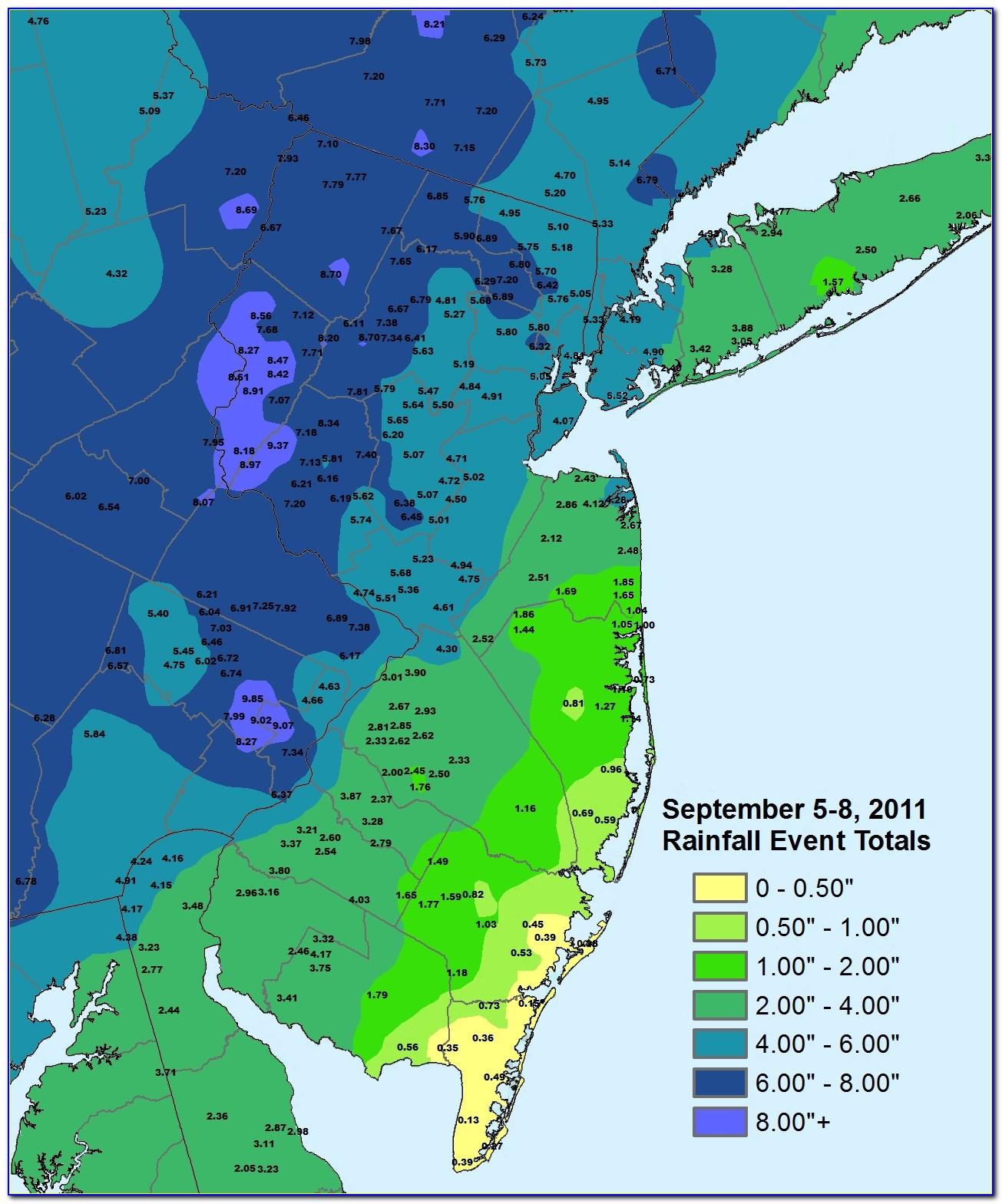 Sandy Flood Map Nj