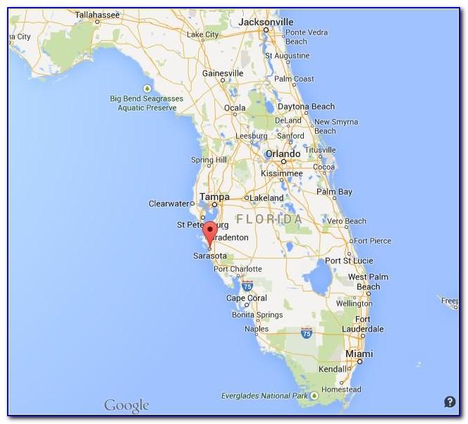 Sarasota Fl Map