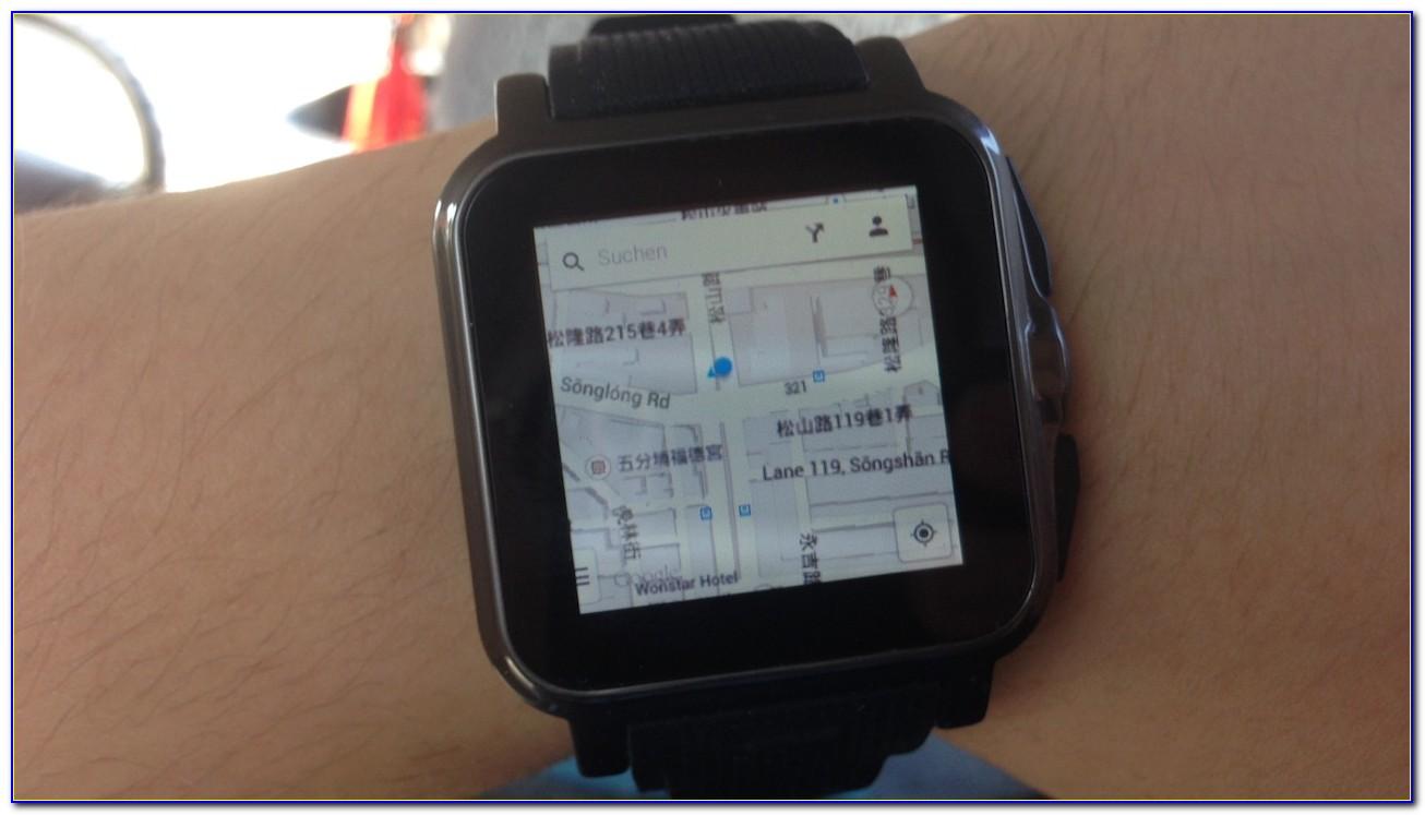 Smartwatch Google Maps Iphone