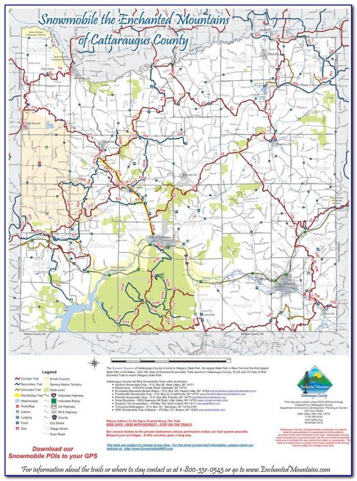 Snowmobile Trail Gps Maps