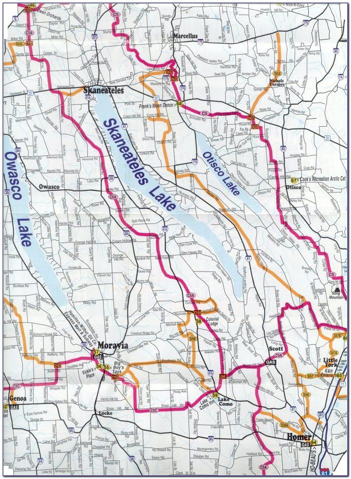 Snowmobile Trail Maps App