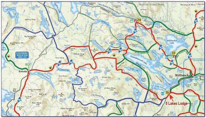 Snowmobile Trail Maps Gps