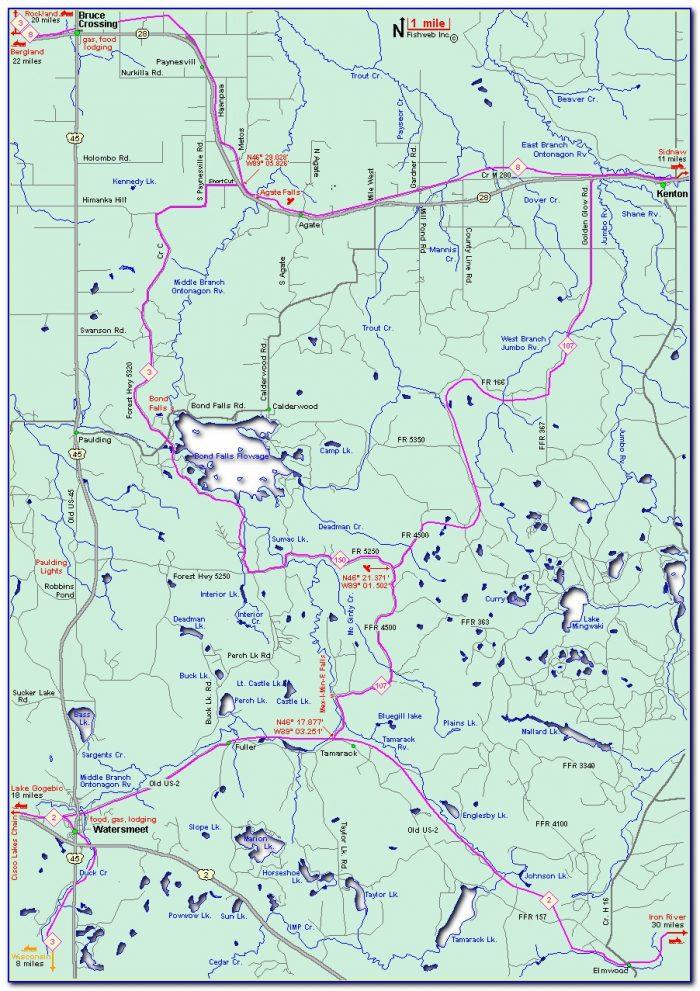 Snowmobile Trail Maps Maine