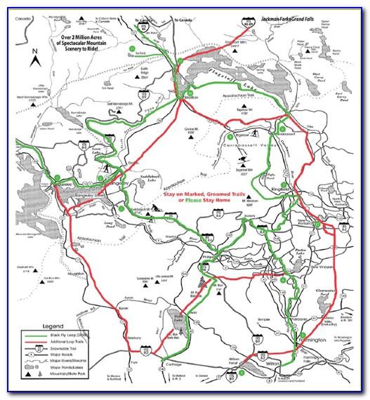Snowmobile Trail Maps Mn