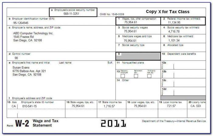 Social Security W2s Online