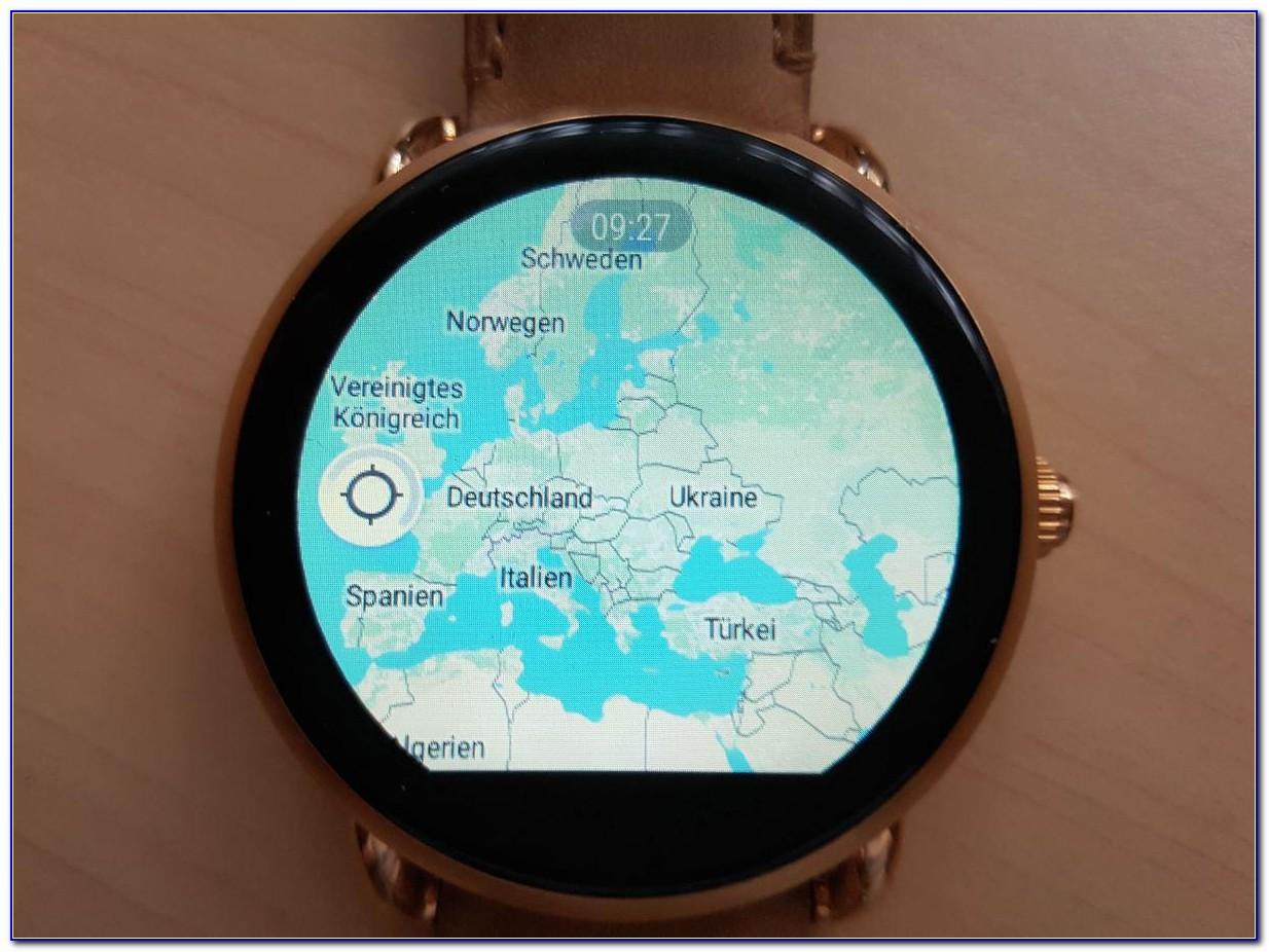 Sony Smartwatch 3 Google Maps