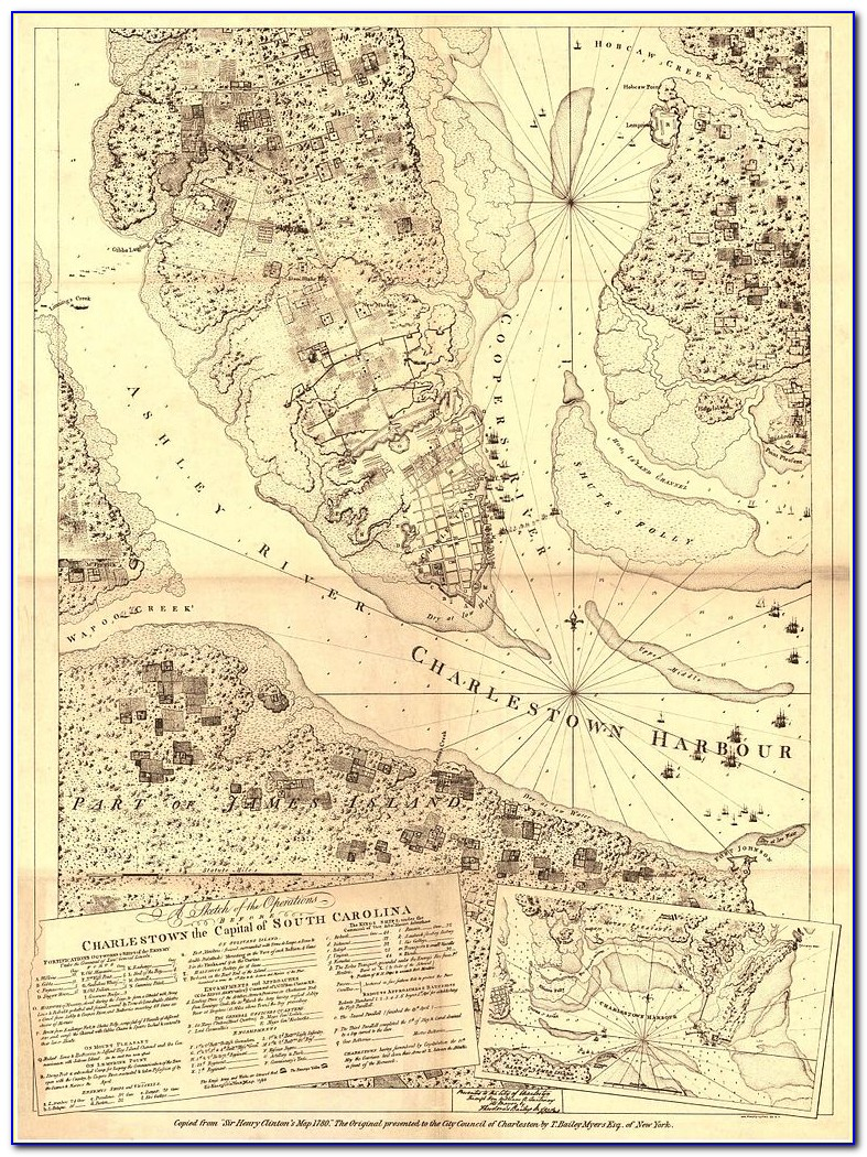 South Carolina Historical Marker Map