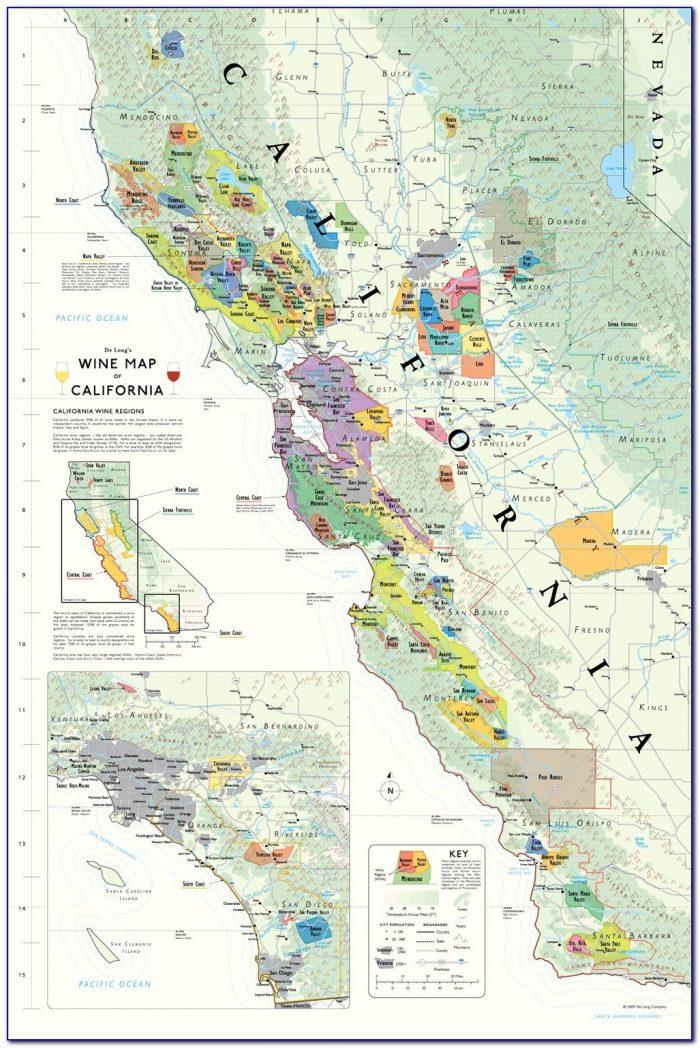 Southern California Winery Map