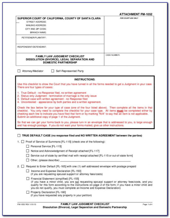 State Of Colorado Legal Separation Forms
