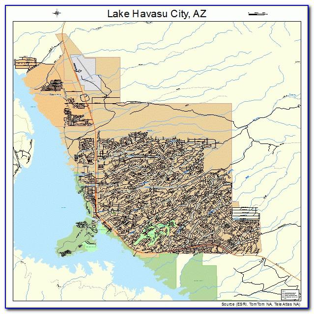 Street Map Of Lake Havasu Az