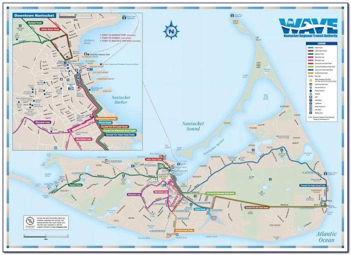 Street Map Of Nantucket Ma
