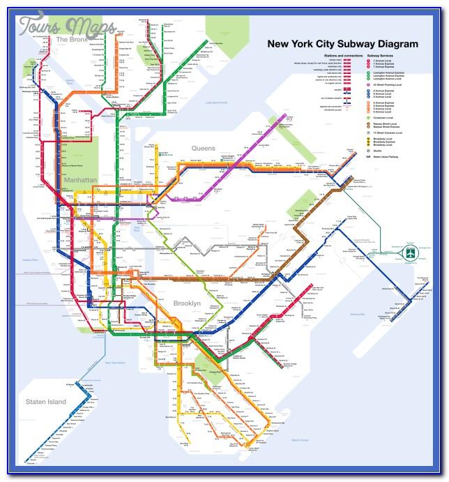 Subway Map Nyc E Train