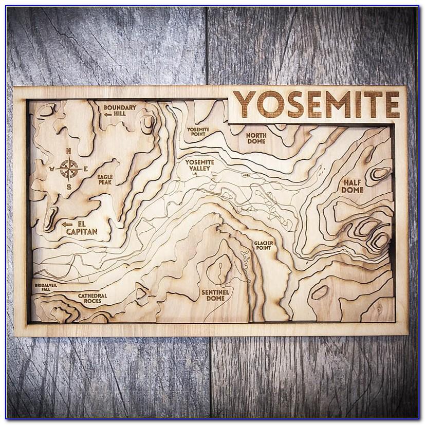 Tahoe Wood Maps Yosemite
