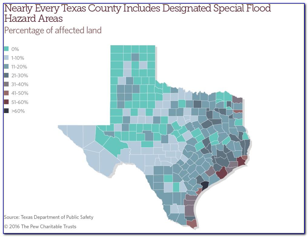 Texas Flood Insurance Rate Map