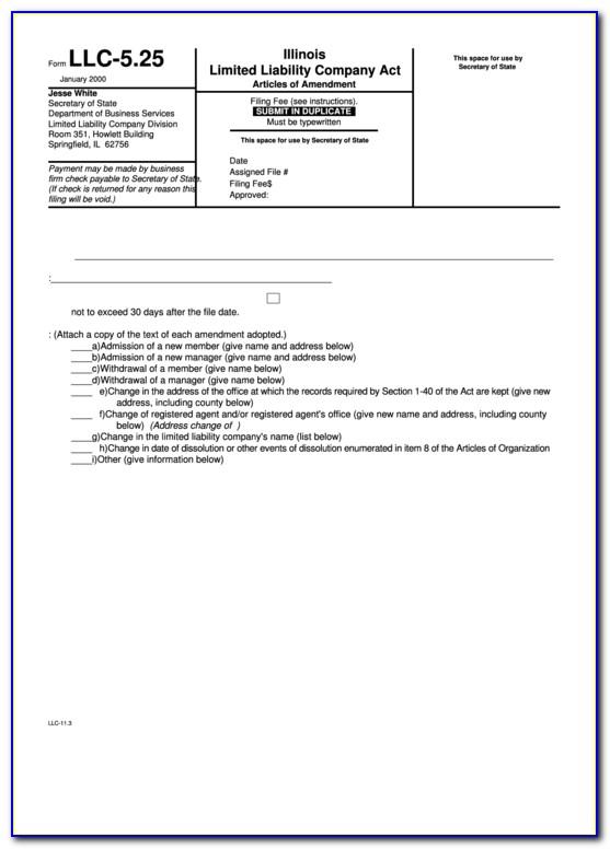 Texas Secretary Of State Llc Forms