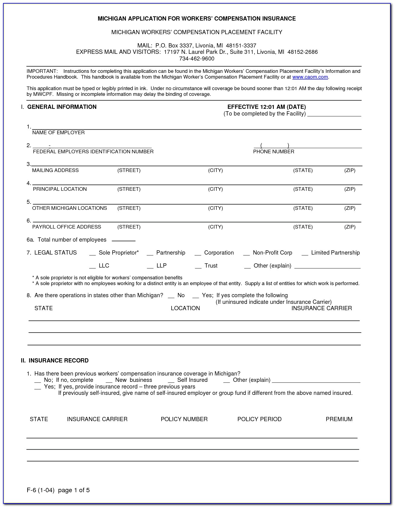 Texas Workers Compensation Form 41
