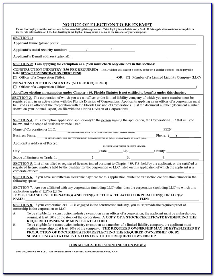 Texas Workers Compensation Form 53