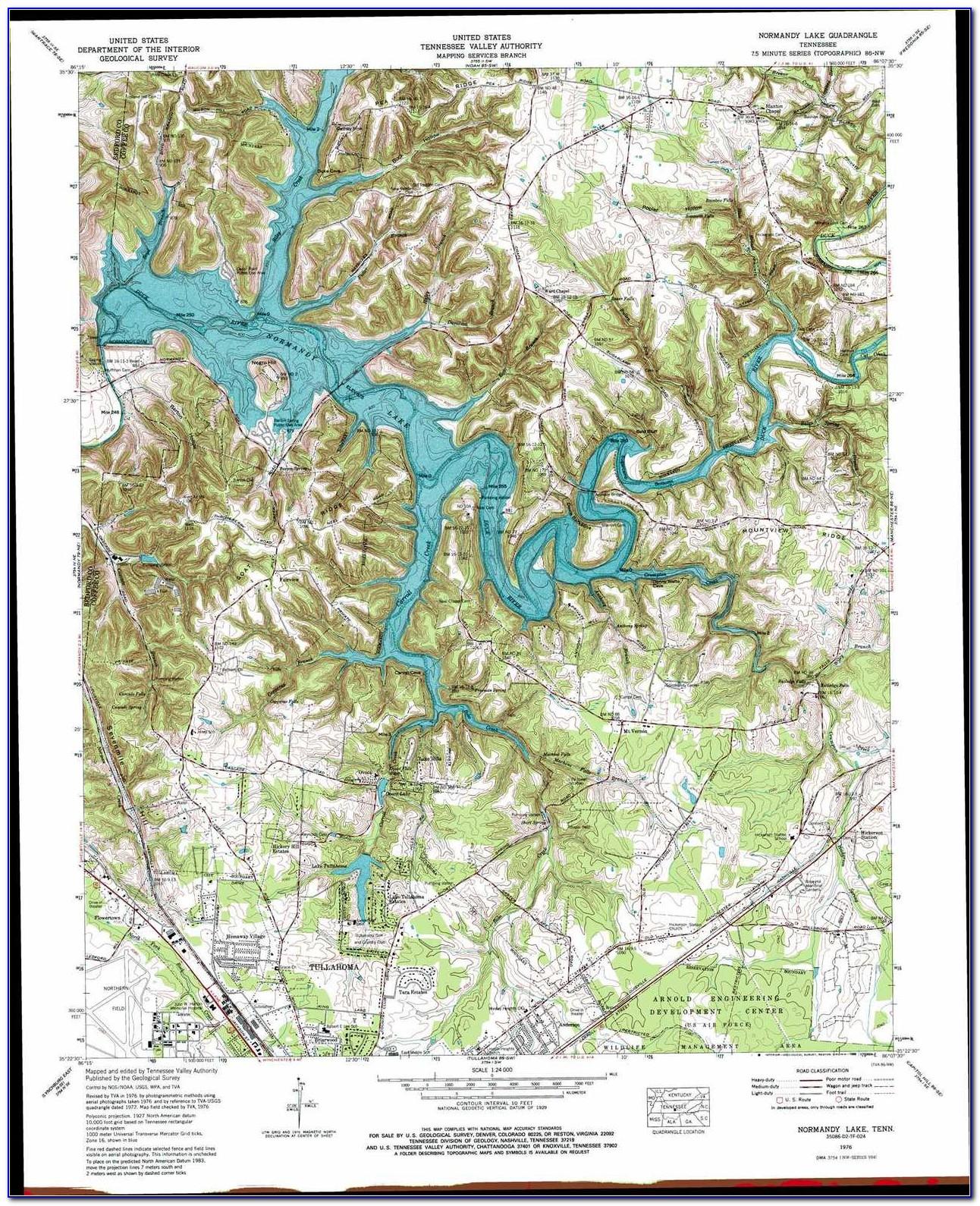 Topo Lake Maps Mn